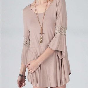 Pol Crochet Tunic Top New Wholesale